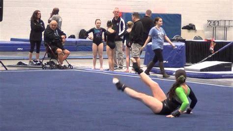 gymnastics floor routine level 6 gymstrada