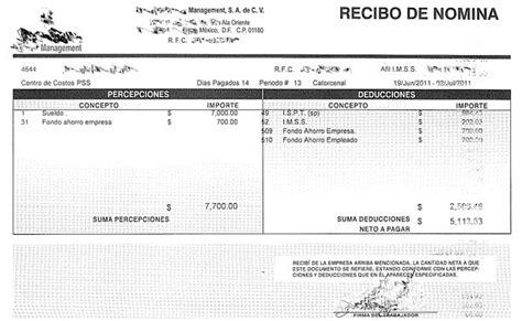 recibos de pago de nomina del gobierno de la ciudad de mexico ejemplos de n 243 minas