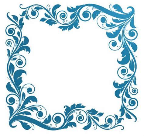 pattern frame illustrator vintage floral frame vector illustration free vector
