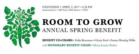 room to grow nyc new york benefit