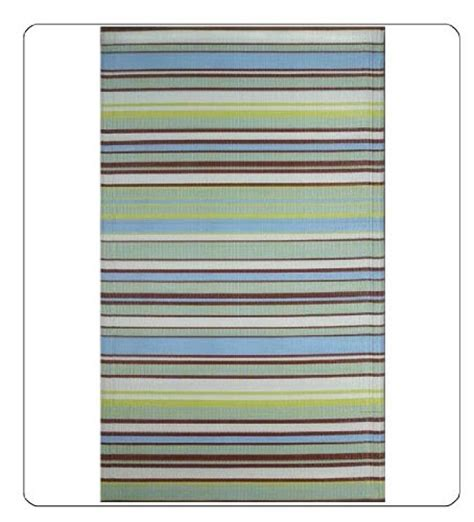 4 X 8 Kitchen Rug Outdoor Area Rug Or Kitchen Mat 4 X 6 Aqua Stripe Patio Indoor Outdoor Rugs Reversible
