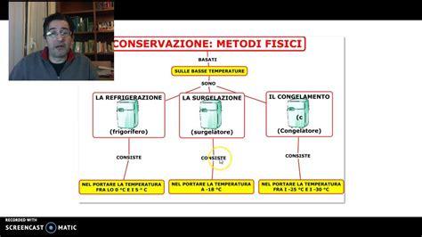 la conservazione degli alimenti la conservazione degli alimenti parte 1 di 2