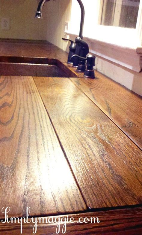 diy wood countertop sealer 25 best ideas about diy wood countertops on wood countertops wood kitchen