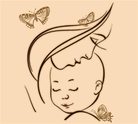 mother baby tattoo designs 15 stunning designs worth your attention