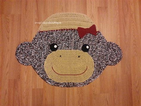 sock monkey rug 17 best images about nursery times on chevron sock monkey baby and l shades