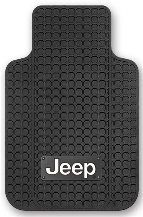 Jeep Car Mats by Plasticolor 174 001645r01 Jeep 174 Logo Floor Mats For Jeep