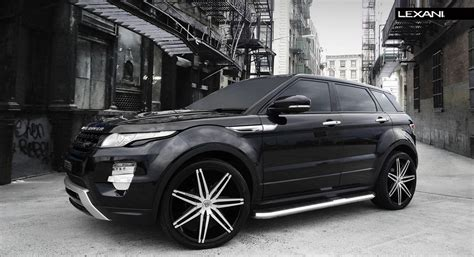 luxury black range rover lexani wheels the leader in custom luxury wheels 2013