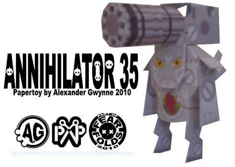 Papercraft Paradise - papercraft paradise exclusive annihilator 35 papercraft