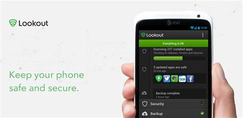lookout for android 6 best free antivirus for android phone