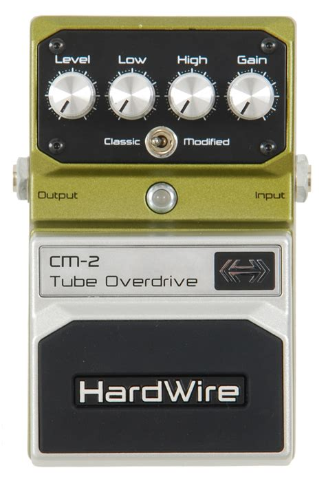 New Series Digitec digitech hardwire series cm 2 overdrive guitar