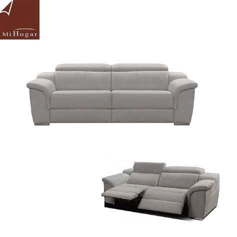 sofas de dos plazas electricos sof 193 madrid chaise longue relax el 201 ctrico muebles mi hogar