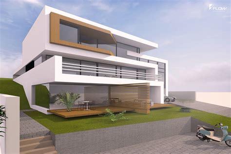 moderne häuser villa moderne havearkitektur