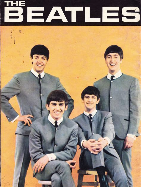 beatles picture book the beatles book back