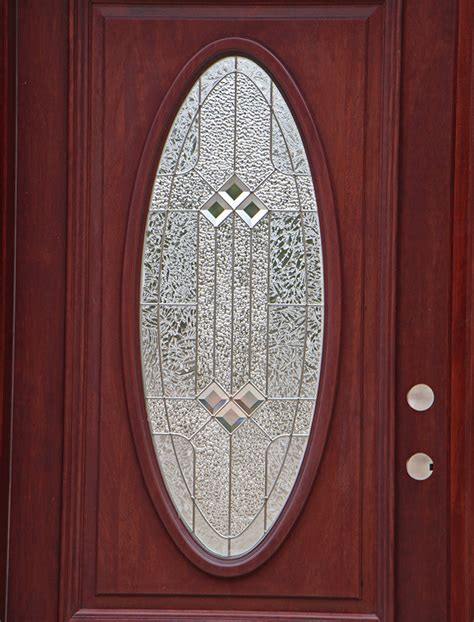 Oval Glass Front Entry Door Oval Glass Entry Doors Mahogany
