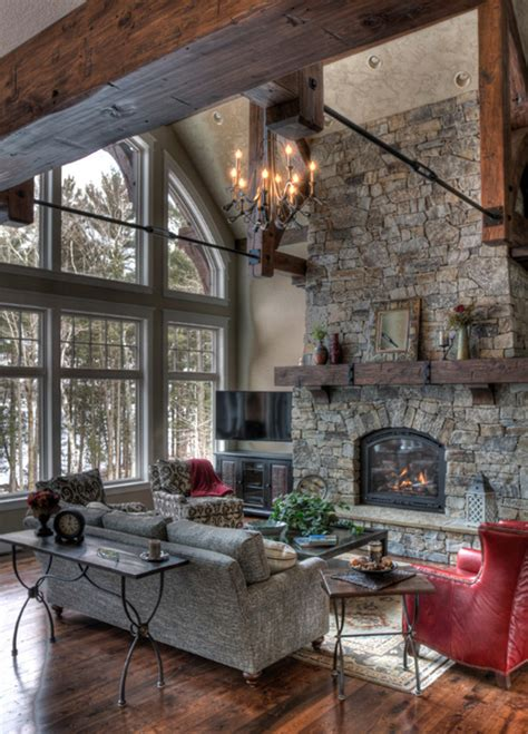 55 awe inspiring rustic living room design ideas