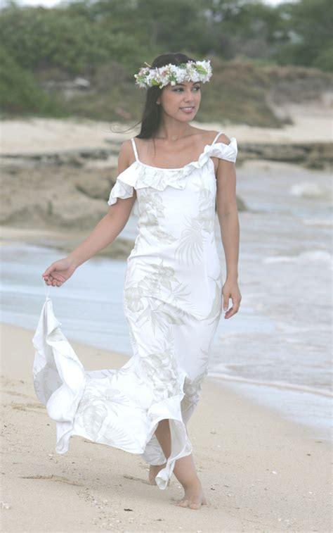 hawaiian wedding dress hawaiian wedding dresses