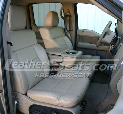 2008 ford f150 seat cover 2004 2008 ford f 150 supercrew or cab leather seat cover