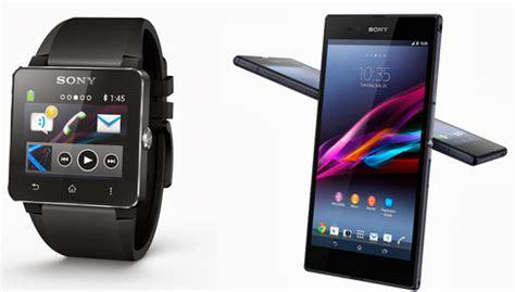 Smartwatch Xperia sony unveils xperia z ultra and smartwatch bazics net
