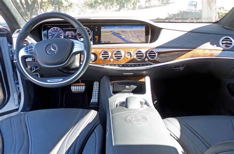 mercedes dashboard clock 2014 mercedes benz s63 amg 4matic test drive nikjmiles com