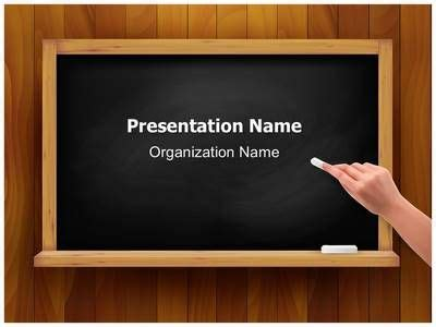 powerpoint templates for class presentation blackboard clipart powerpoint theme pencil and in color