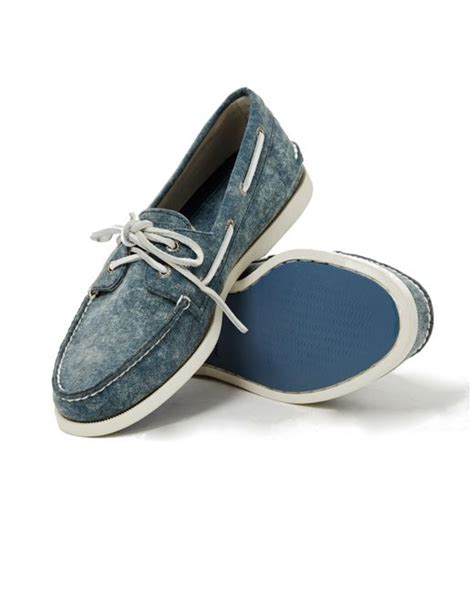 sperry top sider a o 2 eye white cap canvas boat shoe navy