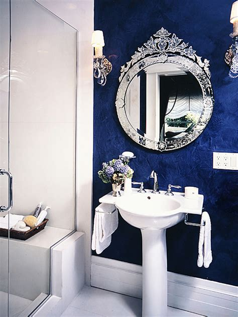 dark blue bathroom ideas blue bathroom ideas dark
