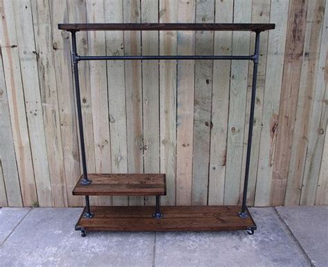 Build A Clothes Rack by How To Build A Clothes Rack With Wood Woodworking