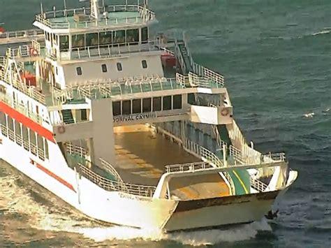 ferry boat zumbi dos palmares g1 previstos para operar em 20 dias novos ferries
