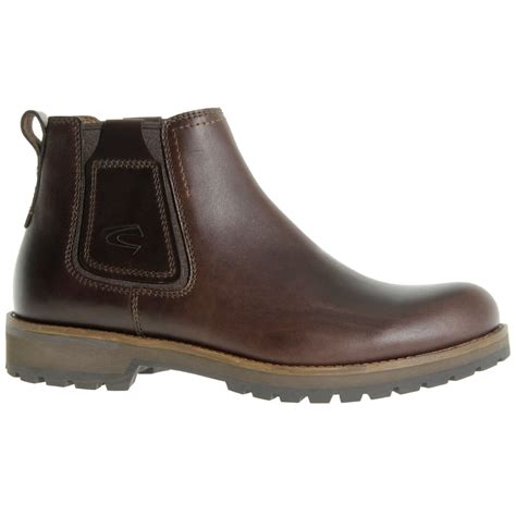 camel chelsea boots mens camel active shield mens classic leather chelsea boots