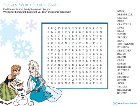 frozen words coloring pages frozen party