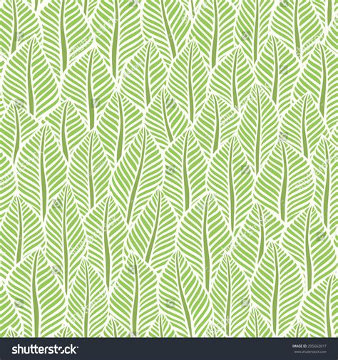 leaf pattern vector background background of leaves vector pattern 295662017