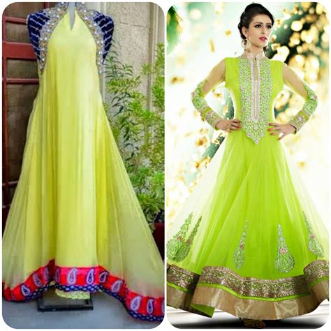 dressing design best design dress for bridal on mehndi function event