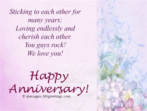 Wedding Anniversary Wishes Parents by Anniversary Messages For Parents 365greetings