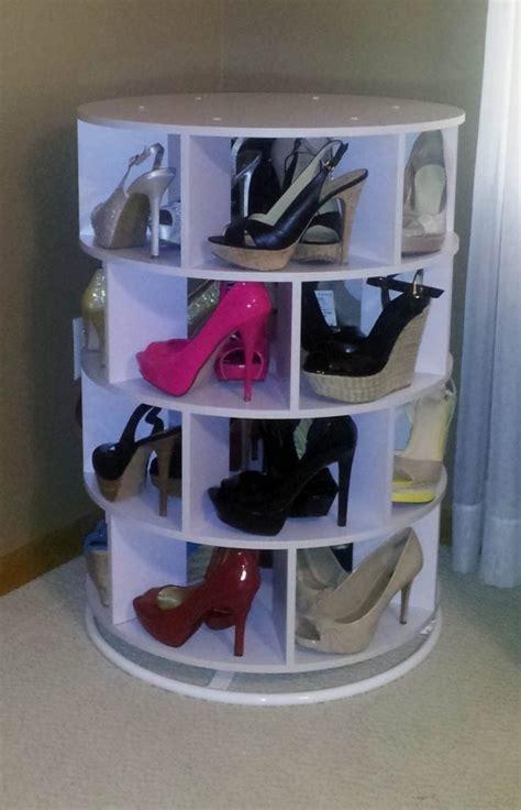 diy lazy susan shoe storage diy lazy susan shoe storage the owner builder network