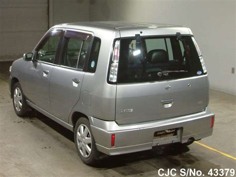 nissan cube 2000 2000 nissan cube silver for sale stock no 43379