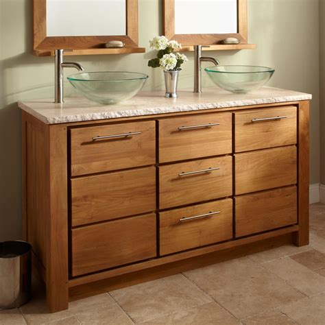 new 60 bathroom vanity top and bowls design