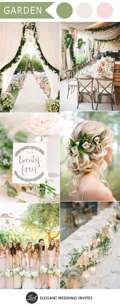 unique garden wedding ideas ten trending wedding theme ideas for 2017