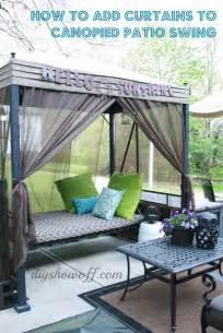 patio swing seater
