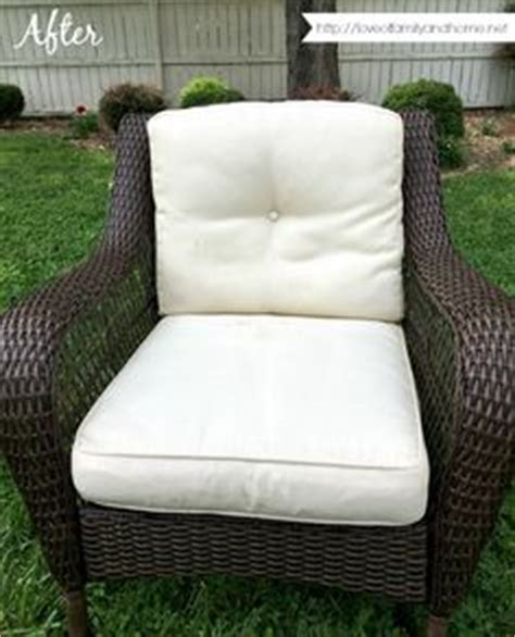 1000 ideas about cleaning outdoor cushions on