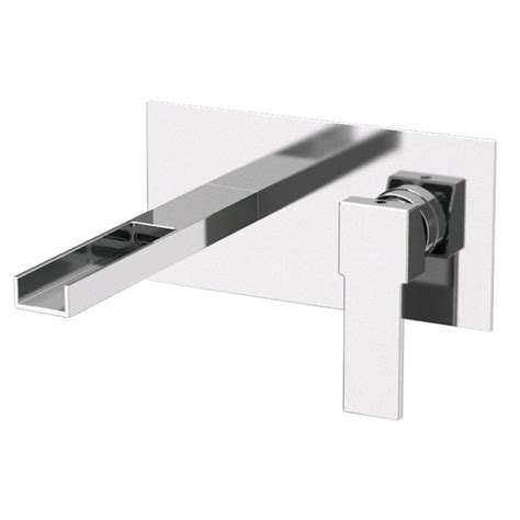 wall mounted kitchen sink faucets remer by nameek s qubika cascade wall mounted horizontal