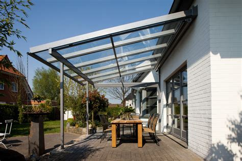 terrassendach aluminium glas terrassendach abdeckung
