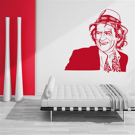 free wall stickers wallstickers folies keith richards wall stickers