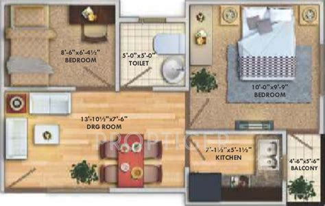 450 square foot apartment floor plan 450 sq ft 2 bhk 1t apartment for sale in deswal shivalik springs apartments deeghot palwal