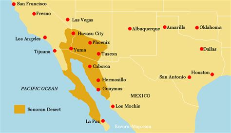 map us deserts us deserts map