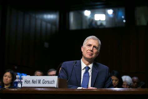 judge neil gorsuch is a front runner for trump s supreme neil gorsuch is now a supreme court justice patdollard