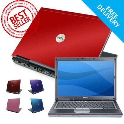 coloured hp dell lenovo toshiba laptop refurbished pink blue or purple