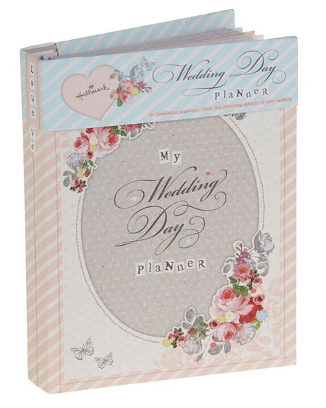 Hallmark Vintage Wedding Planner Book Diary Journal