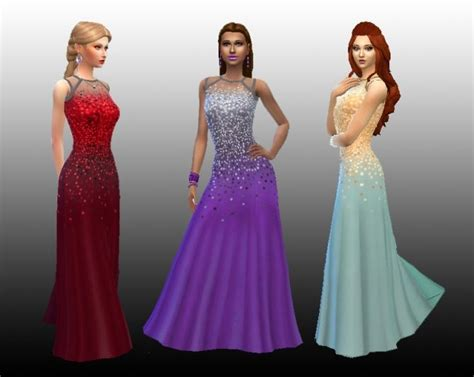 Longdress Cc 19 best images about the sims 4 dresses on
