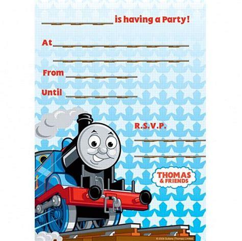 printable birthday invitations thomas the tank engine free thomas the tank engine party printables
