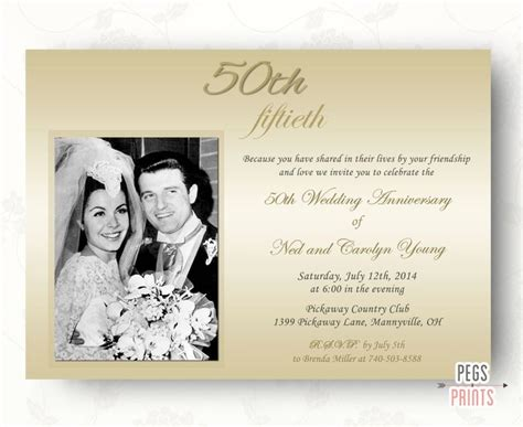 wedding anniversary invitation wording ideas best 25 wedding anniversary invitations ideas on